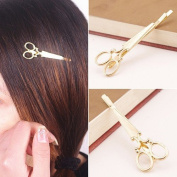 Akak Store Retro Trendy Creative Cute Scissors Hair Clips Hair Accessory for Women and Girls Apply to Any Occasion