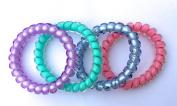 SwirlyDo No Pony Line! No Slip! - Large Hair Ties, Multi-colour