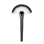KeyZone Fan Shape Makeup Large Fan Blush Face Powder Foundation Brush for Lady