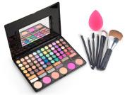 Makeup Brushes Set Eyeshadow Palette Contour Kit iLoveCos