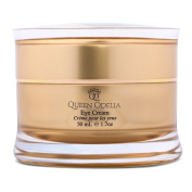 Queen Odelia Anti-Ageing Eye Cream For Dark Circles- With Cactus Oil and Dead Sea Minerals, RICH IN VITAMIN E & Omega 6 - 50ml - Formulated to recharge, revitalise and intensively nourish the skin