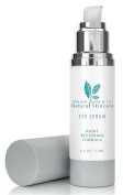 Natural Creamy Night Restoring Eye Serum by Walker Lane & Co. - Anti-Ageing Moisturiser for Dark Circles, Blemishes, & Puffiness - Paraben, Dye & Fragrance Free - Vegan with Organic Ingredients - Vitamin Rich and Oil Infused