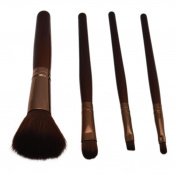 Makeup Brush, Toraway 4 PCS Professional Cosmetic Makeup Brushes kit