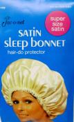 Satin Sleep Bonnet White