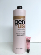 "Genus Argan Moisturising Shampoo for Dry, Frizzy and Treated hair 33.8 Oz ""Free Starry Sexy Kiss Lip Plumping 10 Ml"""