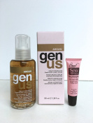 "Genus Argan Moisturising Serum for Dry, Frizzy and Treated hair 3.38 Oz ""Free Starry Sexy Kiss Lip Plumping 10 Ml"""