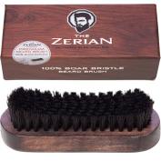 100% Boar Bristle Beard Brush for Men- Firm Bristle - Comb Beards & Moustache & Hair