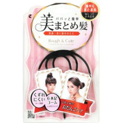 LUCKY TRENDY Style Up Metal Comb, Black, 0.2kg
