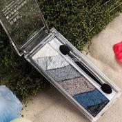 6 Earth Colour Makeup Bake Baked Eyeshadow Rubik's Cube Puzzles Eyeshadow Shimmer