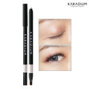 [KARADIUM] Wonderful Eyes Auto Gel Eyeliner 0.5g / Gel Liner & Sharpner & Blending Brush / Waterproof Long-Lasting - 8 Colours