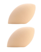 iSuperb 2 PCS Makeup Sponges Latex-Free Egg Shaped Sponge for Flawless Foundation
