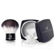 elf Studio High Definition Loose Face Powder and Studio kabuki face brush