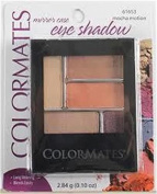 Colormates Eye Shadow Mirror Case, Mocha Motion, 61653, 2.84g5ml
