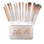 Aisa® Makeup Brushes Premium Cosmetics Brush Set Synthetic Kabuki Makeup Brush Foundation Blending Blush Eyeliner Face Powder Brush Kit