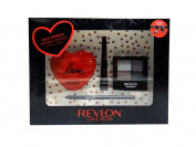 Revlon Love Is On - Gaze Of Love Deluxe Gift Set, w/ Duo Compact Mirror