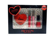 Revlon Love Is On - Lips & Tips Deluxe Gift Set, w/ Duo Compact Mirror