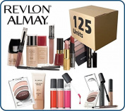 (Lot of 125 pcs) Revlon/Almay Cosmetics Wholesale Liquidation Mixed Box