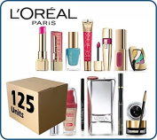 (Lot of 125 pcs) L'Oreal Paris Cosmetics Wholesale Liquidation Mixed Box