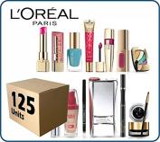 (Lot of 125 pcs) L'Oreal Paris Cosmetics Wholesale Liquidation Mixed Box