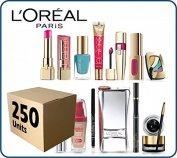 (Lot of 250 pcs) L'Oreal Paris Cosmetics Wholesale Liquidation Mixed Box