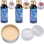 CCbeauty Halloween Special Effects Stage Makeup Wax Wound Moulding Scars + Vampire white foundation + 3x Fake Blood Set