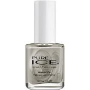 Bari Pure Ice Nail Polish, 1156 Flawless (Pearl Grey), 15ml