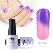 Sexy mix 7ml Temperature Colour Changing Nail Gel Polish Soak Off UV LED Salon Beauty Art DIY 5732