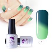 Sexy mix 7ml Temperature Colour Changing Nail Gel Polish Soak Off UV LED Salon Beauty Art DIY 5711
