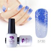 Sexy mix 7ml Temperature Colour Changing Nail Gel Polish Soak Off UV LED Salon Beauty Art DIY 5730