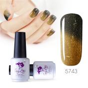 Sexy mix 7ml Temperature Colour Changing Nail Gel Polish Soak Off UV LED Salon Beauty Art DIY 5743
