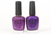 Piggy Polish 3 Free Nail Polish, Confetti and Iris Upon Stars - Purple