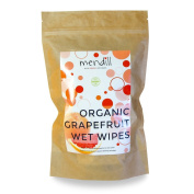 Mendill - Organic Grapefruit Wet Wipes