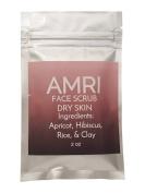 AMRI Natural Organic Face Scrub for Dry Skin Exfoliate Tone Detoxify