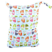 MSsmart (TM) Waterproof PUL Baby Cloth Nappy Laundry Wet and Dry Bags Multipurpose Storage Organiser Bag