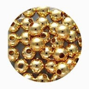 Round Solid Spacer Beads Choose one plating and Smooth or Ribbed Finish 50 or 100 pcs FREE SHIPPING