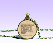 Albus Dumbledore Quote Pendant J.K. Rowling NECKLACE Quote Jewelery Charm Pendant for Him or Her