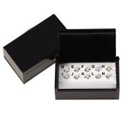 Ellins Diamonds CZ Master Set of 10 1ct..Stones Colours D, E, F, G, H, I, J, K L & M