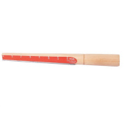 Wooden Colour Wax Removing Carve Mandrel Ring Sizer Measurer Stick with Steel Blade