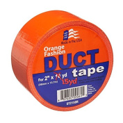 Signature Crafts DT215OR Fashion Duct Tape, 15 yd 4.8cm , Solid Orange