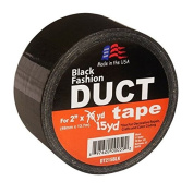 Signature Crafts DT215BLK Fashion Duct Tape, 15 yd 4.8cm , Solid Black
