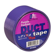 Signature Crafts DT215PUR Fashion Duct Tape, 15 yd 4.8cm , Solid Purple
