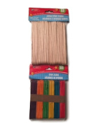 Wood Craft Sticks Bundle Two Items