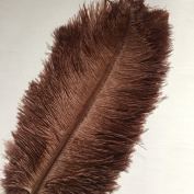 20pcs Natural 10-12inch(25-30cm) Ostrich Feathers Plume for Wedding Centrepieces Home Decoration