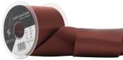 Berisfords R350170/488 | Hot Chocolate Double Faced Satin Ribbon | 20m x 70mm