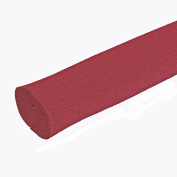 FloristryWarehouse Crimson Red Crepe paper roll 50cm wide x 2.4m long. Top quality Italian paper craft