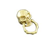 Screw eye Skull Biker Rock Wallet Purse Brass Connector -Hardware Fitting