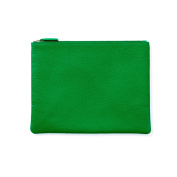 Medium Pouch - Full Grain Leather - Kelly Green