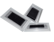 Eyelash Extension Silk Lashes - 3 tray Combo B .15, .18, .20, .25 X 12, 13, 14mm