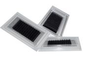 Eyelash Extension Silk Lashes - 3 tray Combo B .15, .18, .20, .25 X 12, 13, 14mm