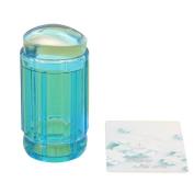 Kingfansion Nail Art Stamping Stamper Scraper Image Plate Manicure Print Tool DIY